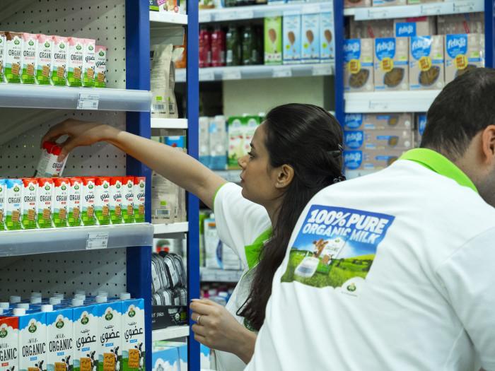 Arla lancerer økologisk mælk i Mellemøsten