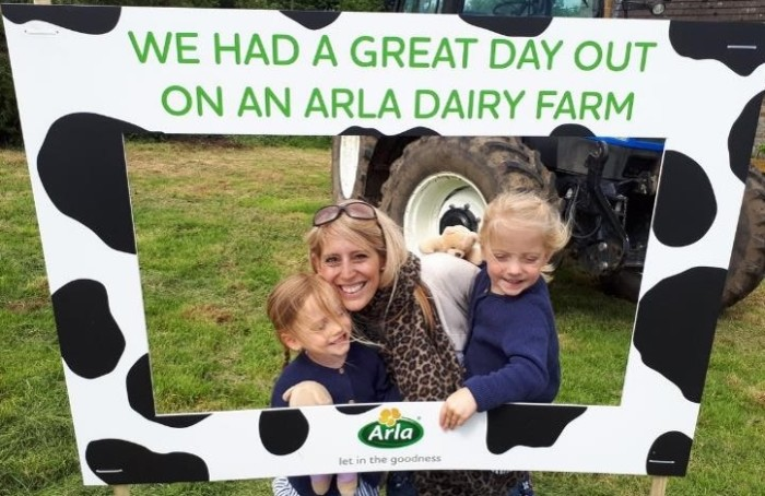 Arla farmer owners open their gates for Open Farm Sunday