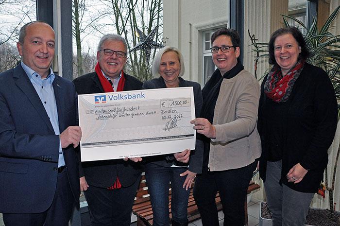 Service-Verband KVD e. V. spendet für soziale Projekte