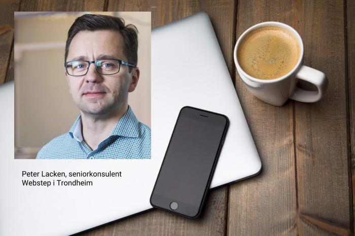 Peter Lacken er en nestor hos oss i Trondheim på Robotic Process Automation (RPA)