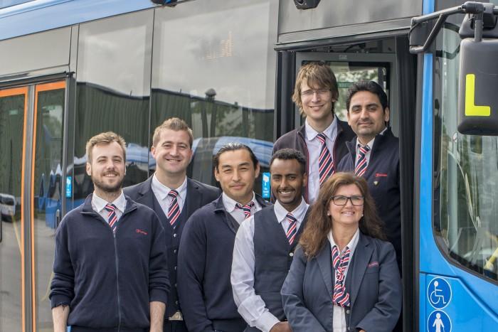 Transdev samarbetar med Arbetsförmedlingen om bussförarutbildning i Göteborg och Sjuhärad