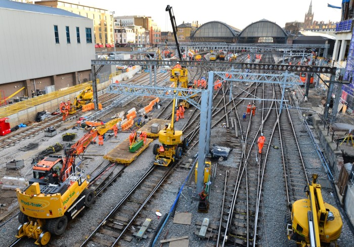 Month to go until three-day closure including a Friday at King's Cross as Network Rail transforms track layout to improve reliability