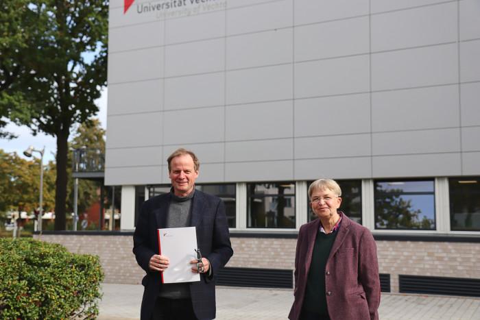 25 Jahre im Dienst der Uni Vechta: Andreas Fischer