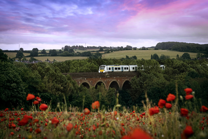 A train journey with a view: as Britain gets back on track, 41% of passengers are looking forward to a change of scenery