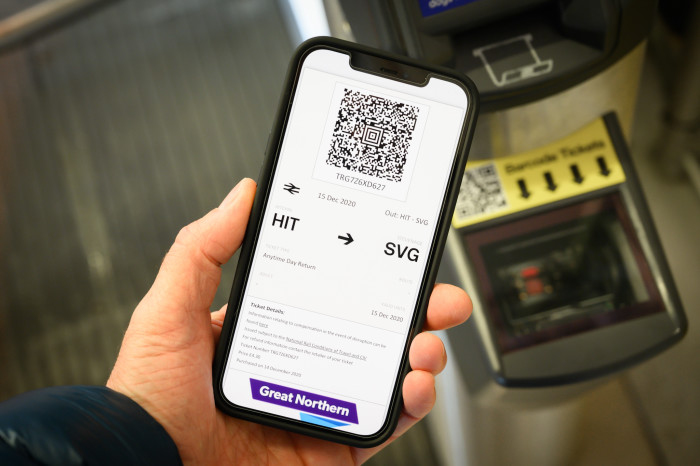 More eTickets help rail passengers socially distance on Thameslink and Great Northern