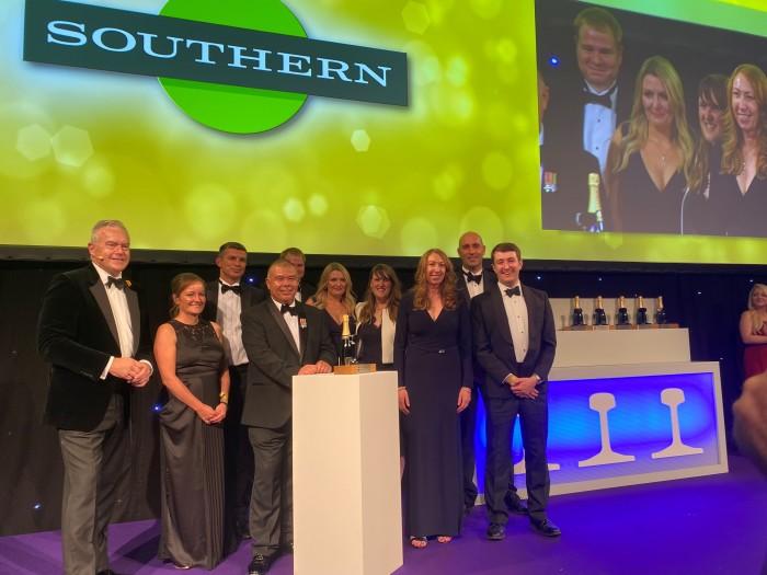 Southern picks up top award at rail industry Oscars