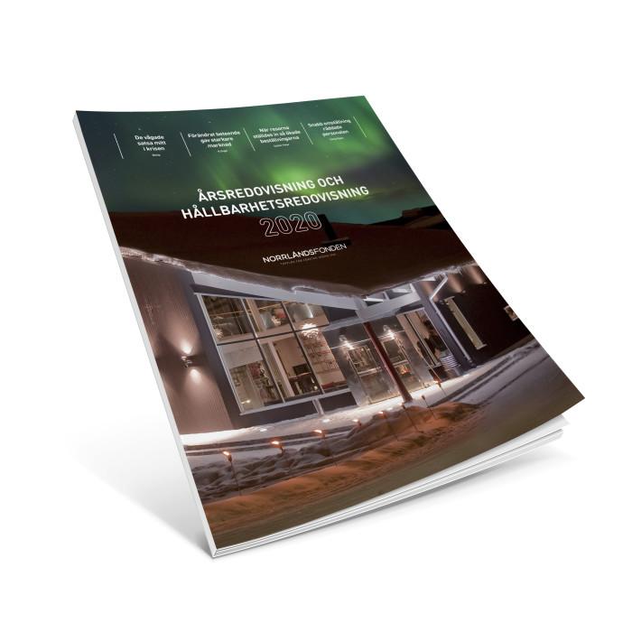 Norrlandsfondens årsredovisning och hållbarhetsredovisning 2020