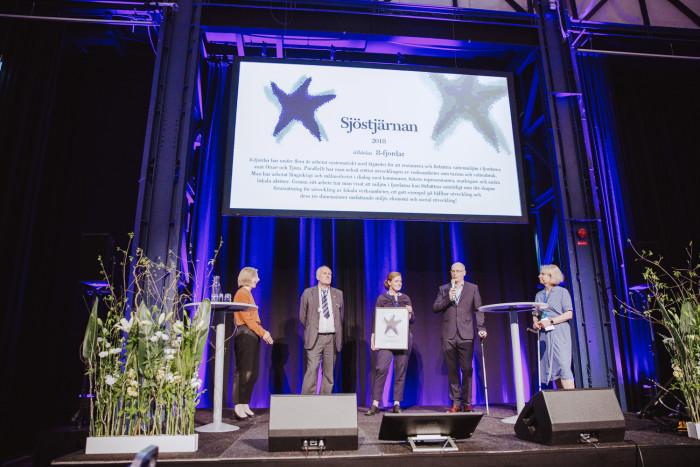 8-fjordar vinner vattenpriset Sjöstjärnan: