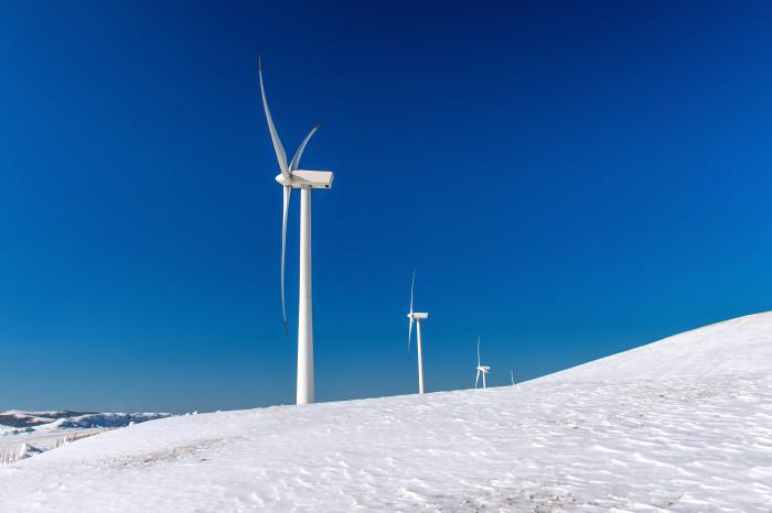 Artikel bild, Kraftig utbyggnad av vindkraft kan ge lägre elpriser