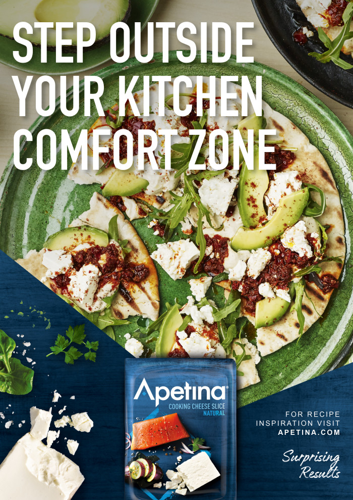 Arla repositions Apetina with radical re-brand