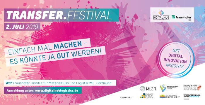 Fraunhofer IML bringt mit Transfer-Festival Wirtschaft und Forschung zusammen
