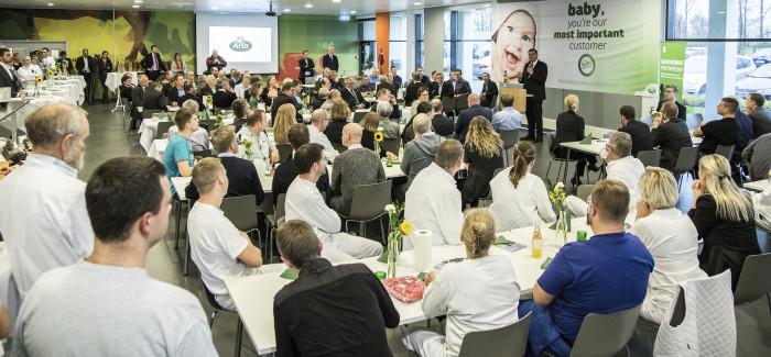 Arla åbner laktoseanlæg til 900 millioner kroner