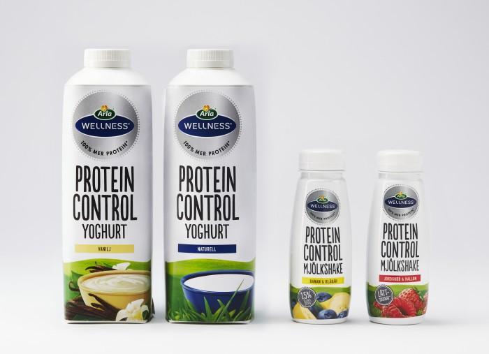 Arla Wellness Protein Control –  extra protein för frukost, mellanmål och träning
