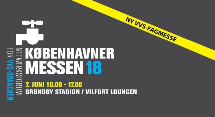 Mød GPA på den nye VVS-fagmesse 7. juni på Brøndby Stadion