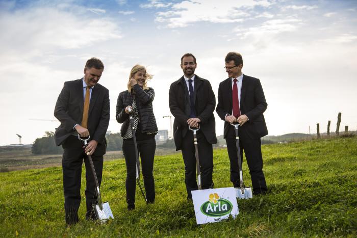 Erster Spatenstich für globales Arla-Innovationszentrum