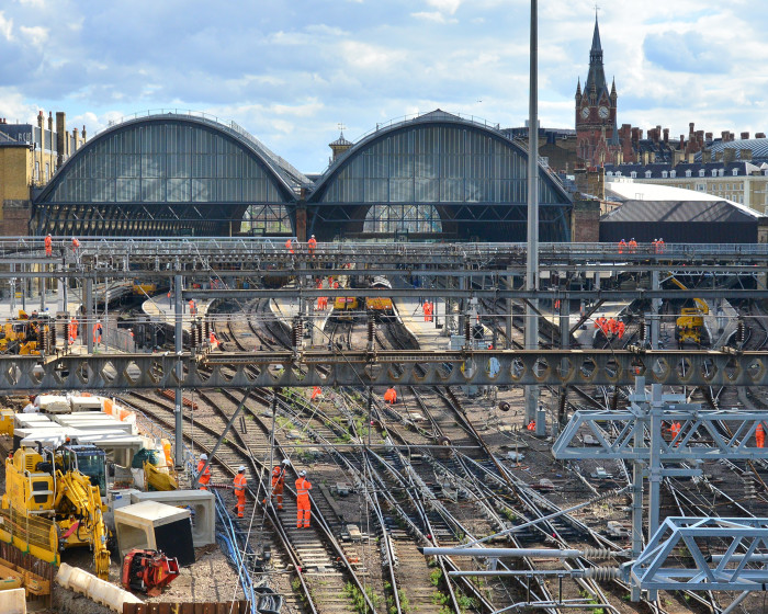 Passengers reminded not to travel to or from London King's Cross this weekend as vital work continues on the £1.2 billion East Coast Upgrade