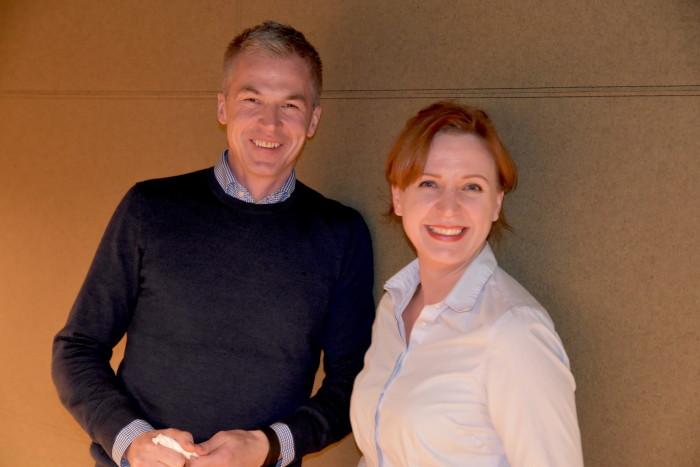 Avdelingsdirektør for prosjekt- og testlederne i Webstep Partner, Hans Sigvart Hansen, gleder seg over å ha fått Katerina Johnsen med på laget.