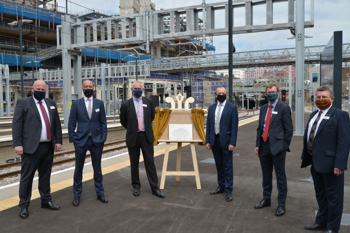 GTR celebrates as Network Rail completes once-in-a-generation scheme at King's Cross
