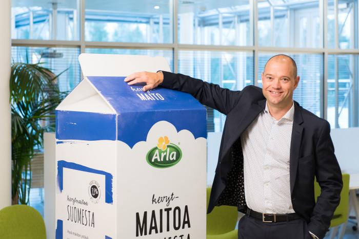 Tomi Tanninen Arla Oy:n talous- ja hallintojohtajaksi