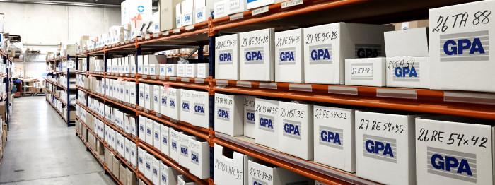 Vi tæller lageret hos GPA
