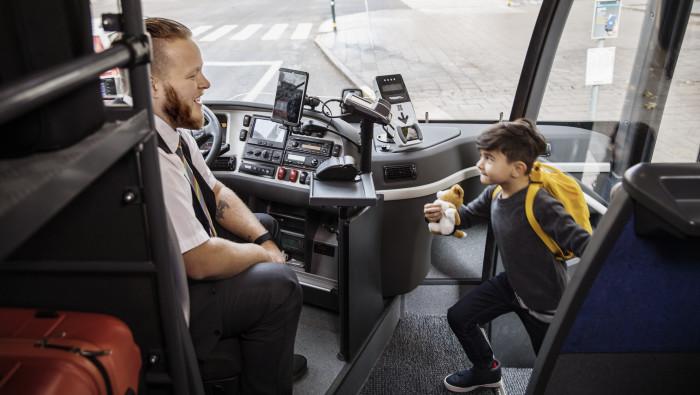 Nytt rekord: 92% av resenärerna är nöjda med Transdev