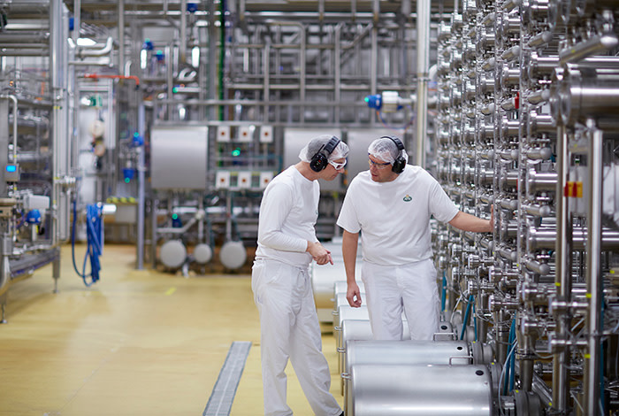 Quality and safety in food from a by-product? Arla Foods Ingredients leads the way