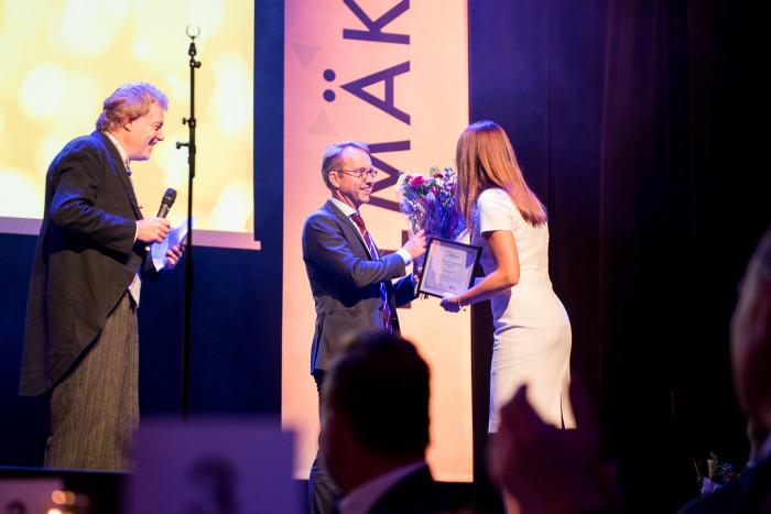 Läkarförbundets hederspris Läkare som leder tilldelas Björn Eriksson förvaltningschef Skånes universitetssjukhus under Fullmäktige 2018