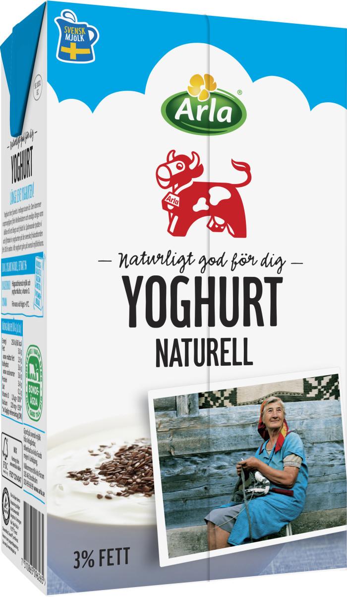 arla naturell yoghurt innehåll