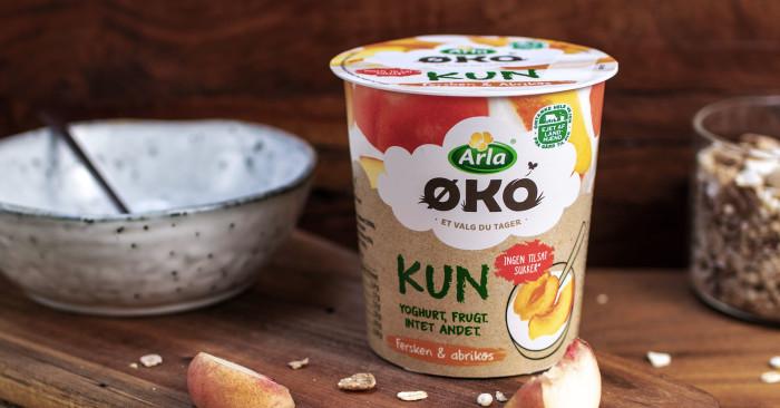 Arla lancerer ny økologisk yoghurt med kun to ingredienser