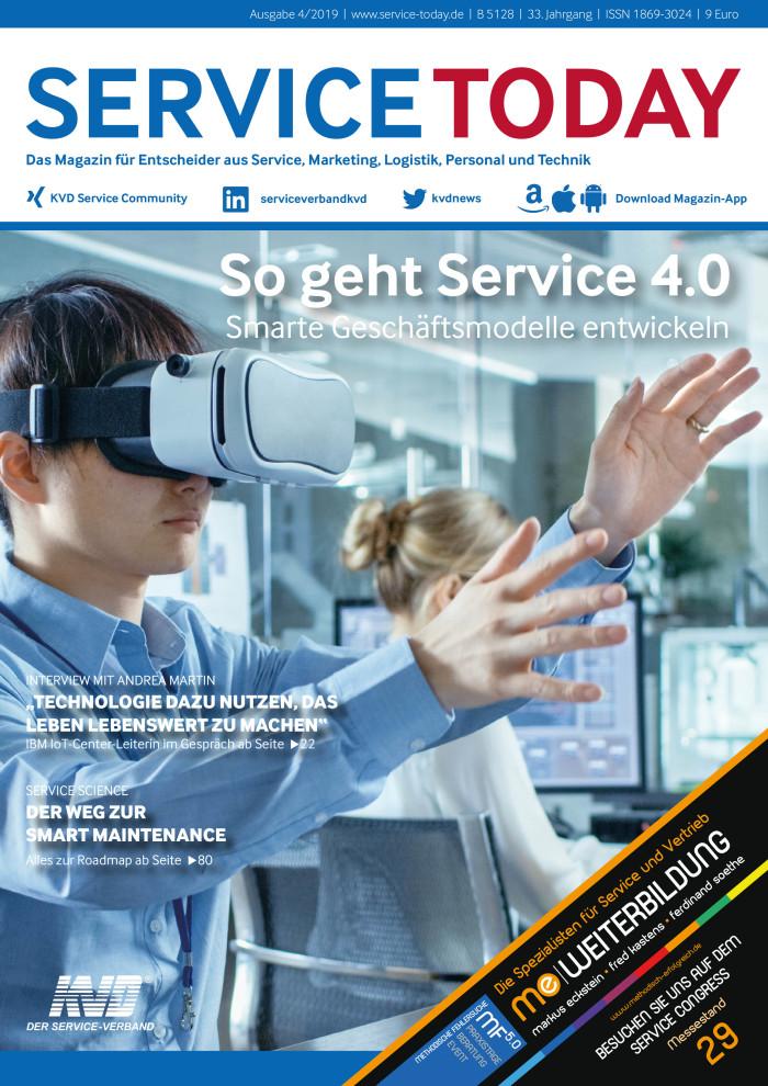 Neue SERVICETODAY erschienen: Service 4.0 - Smarte Geschäftsmodelle entwickeln