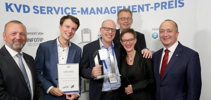 Jungheinrich AG gewinnt KVD Service-Management-Preis 2019