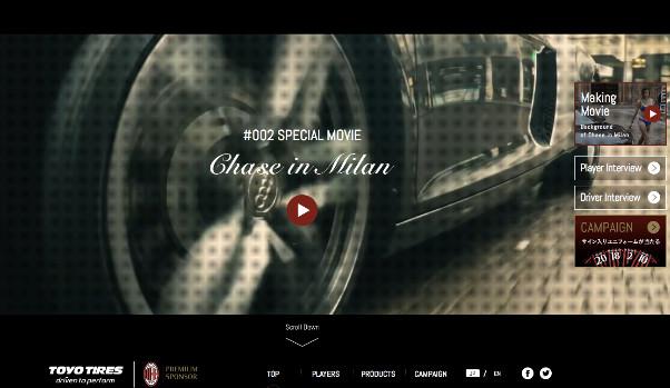 Chase in Milan Brandsite