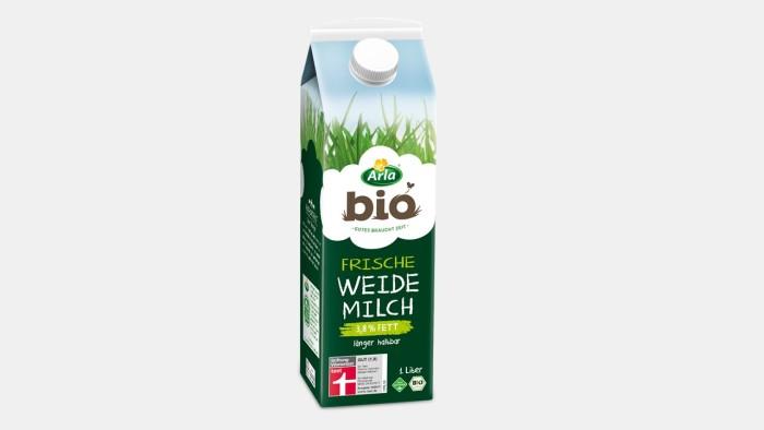 Zeit für ausgezeichneten Bio-Milchgenuss
