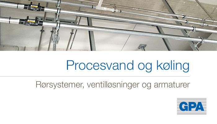 Procesvand og køling  - DTU Life  Science &  Bioengineering
