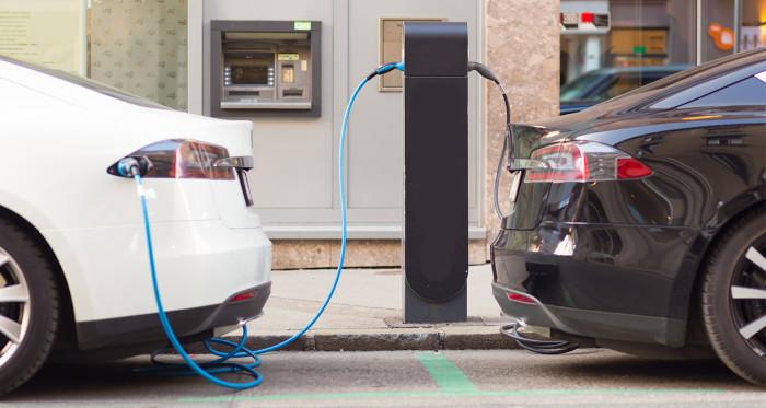 Artikel bild, 20% lägre koldioxidutsläpp om alla körde elbil