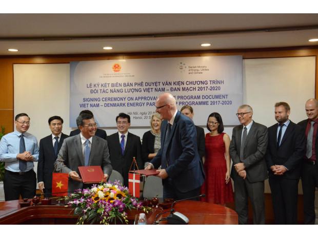 Energistyrelsen og MOIT lancerer 'Vietnam Energy Outlook Report 2017'
