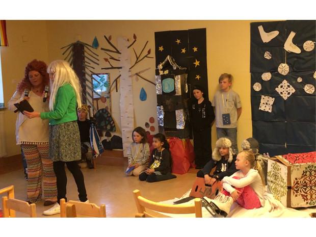 Hietaniemi friskola jobbar med UF