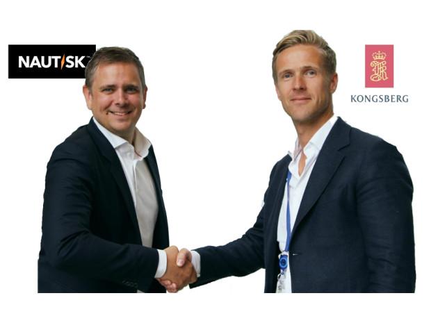 Nautisk and Kongsberg Digital announce  digital navigation partnership