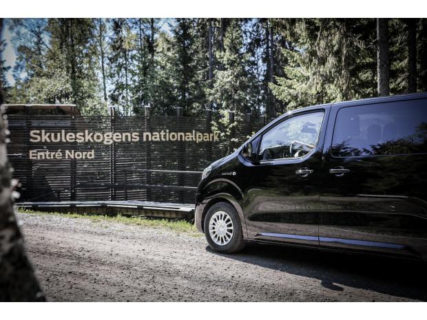 Elminibussen ger Höga Kustens besökare en smidig och hållbar vandringsupplevelse