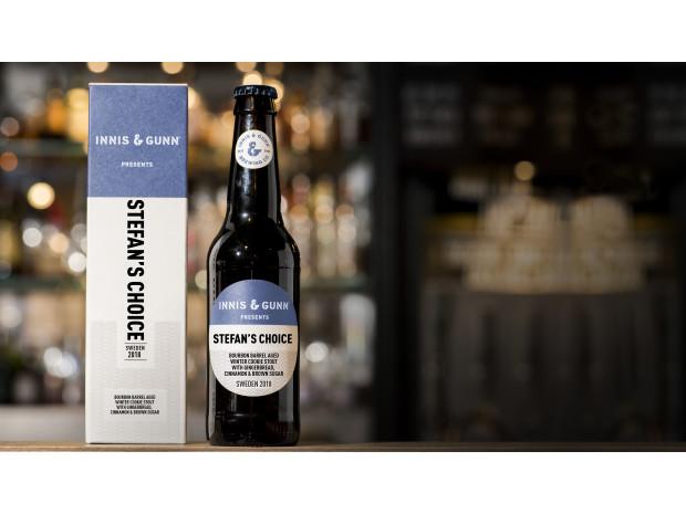 Stefan Skogh från Strängnäs vann Imagine & Gunn - 2018 lanseras hans bourbonfatslagrade pepparkaksstout i Sverige.