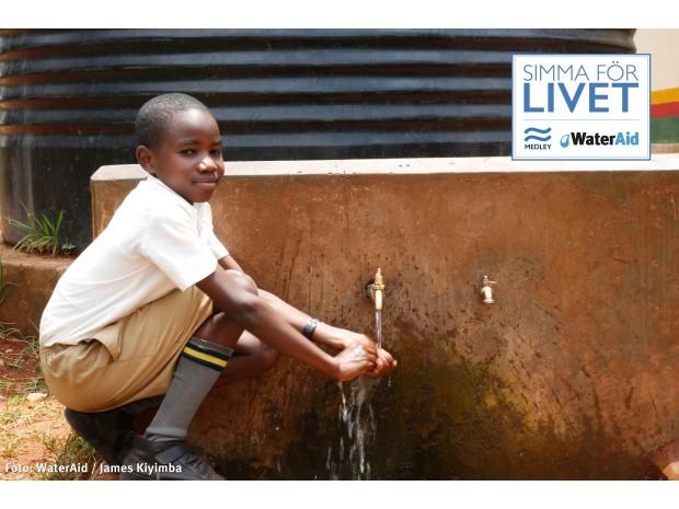Kronprinsessan Victorias engagemang ger tusentals barn i Östafrika rent vatten