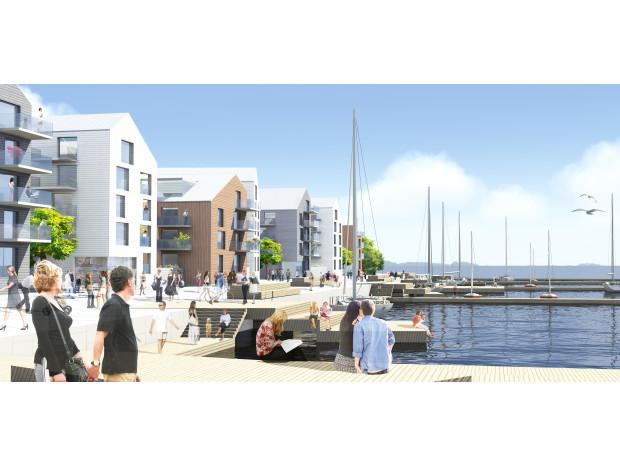 Mimer bygger 1400 sjönära bostäder i Västerås tillsammans med partners. Bonava förvärvar nu rätten att bygga 550 av dem.