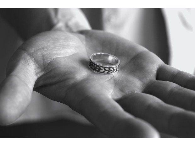 First in the world to use 'peace metal' in doctoral rings