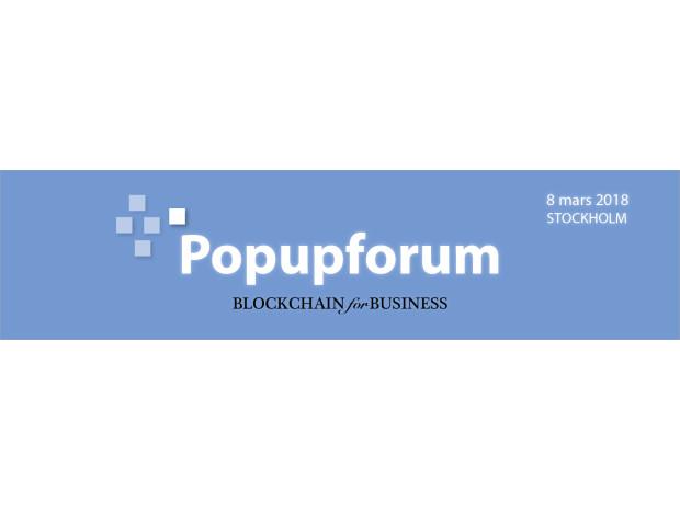 Nu är talarna klara för BLOCKCHAIN for BUSINESS