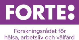 Forte - Forskningsrådet för hälsa, arbetsliv och välfärd