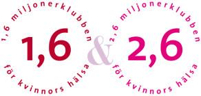 1,6 & 2,6 miljonerklubben