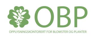 OBP - Opplysningskontoret for blomster og planter