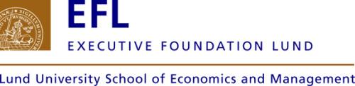 EFL, Executive Foundation Lund