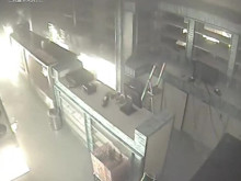 CCTV footage of finchley arson