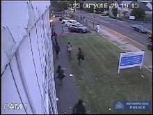 CCTV outside community centre